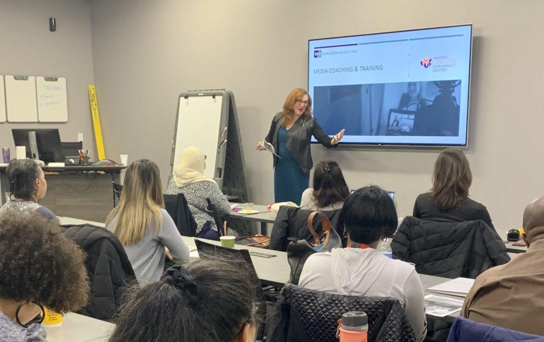 Karolyn Raphael Conducts Media Training Workshop